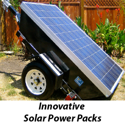 Innovative Solar Power Packs
