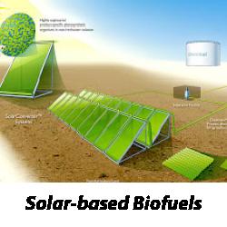 Solar-based Biofuels